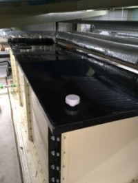 Cold Water storage tank lid as fitted by TechRight Environmental, Water Hygiene & Legionella Control Services, Belfast, Northern Ireland, UK