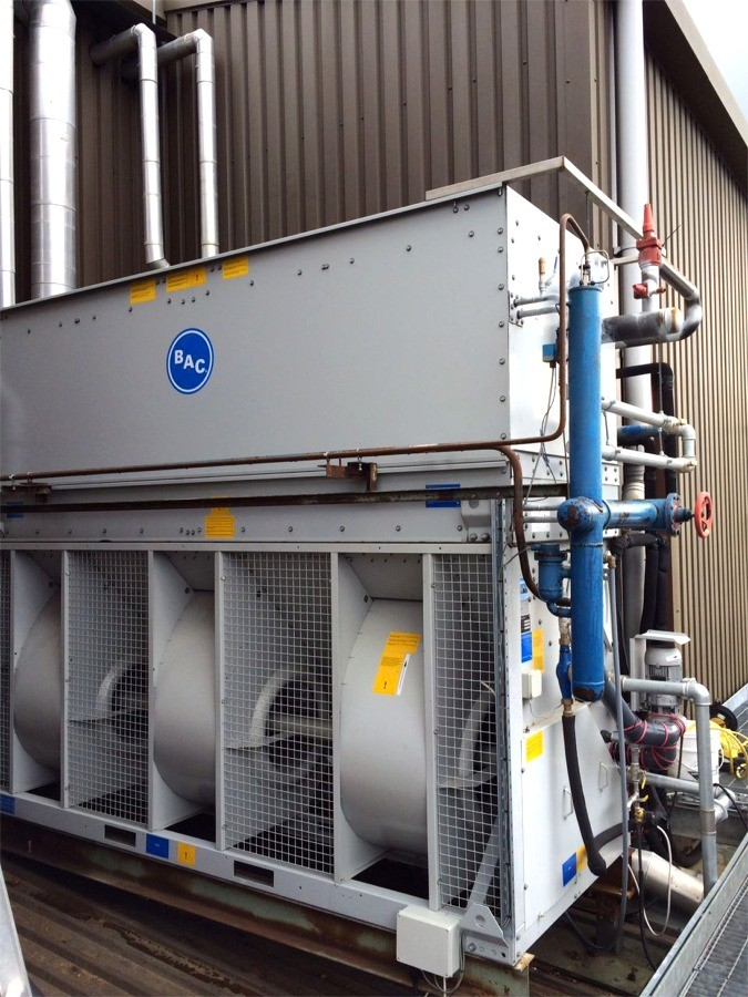 Cooling Tower in Belfast - Risk Assessments and reports prepared by TechRight Environmental, Water Hygiene & Legionella Control Services, Belfast, Northern Ireland, UK